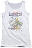 Juniors Tank Top: Whamo - Wheelie Monster Tank Top