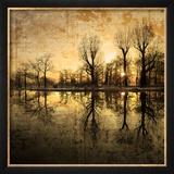 Down Deep into the Pain Framed Photographic Print by Philippe Sainte-Laudy