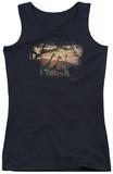 Juniors Tank Top: Wildlife - Sand River Sunset Tank Top
