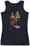 Juniors Tank Top: 2 Broke Girls - Max & Caroline Tank Top