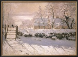 The Magpie, 1869 Posters by Claude Monet