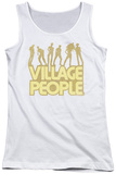 Juniors Tank Top: Village People - VP Pose Tank Top