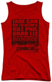 Juniors Tank Top: Shaun Of The Dead - List Tank Top