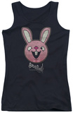 Juniors Tank Top: Sucker Punch - Pink Bunny Tank Top