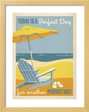 Perfect Day Framed Giclee Print