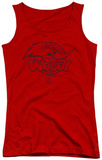 Juniors Tank Top: Woody Woodpecker - Big Head Tank Top