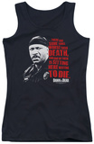 Juniors Tank Top: Dawn Of The Dead - Worse Than Death Tank Top