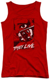 Juniors Tank Top: They Live - Graphic Poster Tank Top