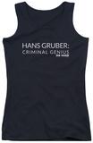 Juniors Tank Top: Die Hard - Criminal Genius Tank Top