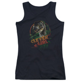 Juniors Tank Top: Jurassic Park - Clever Girl Womens Tank Tops