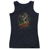 Juniors Tank Top: Jurassic Park - Clever Girl Tank Top