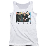 Juniors Tank Top: Friends - Cast Logo Tank Top