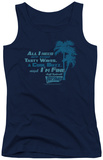 Juniors Tank Top: Fast Times Ridgemont High - All I Need Tank Top
