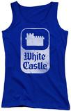 Juniors Tank Top: White Castle - Classic Logo Tank Top