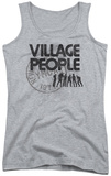 Juniors Tank Top: Village People - Stamped Tank Top