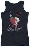Juniors Tank Top: Strawberry Shortcake - I Heart Tank Top