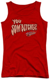 Juniors Tank Top: Smokey And The Bandit - Sombitch Tank Top