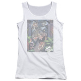 Juniors Tank Top: Jurassic Park - Giant Door Tank Top