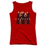 Juniors Tank Top: Friends - Cast In Black Tank Top