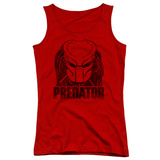 Juniors Tank Top: Predator - Logo Tank Top