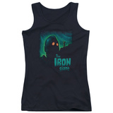 Juniors Tank Top: Iron Giant - Look To The Stars Womens Tank Tops