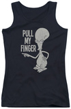 Juniors Tank Top: American Dad - Pull My Finger Tank Top