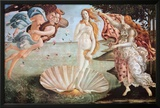 The Birth of Venus, c. 1485 Prints by Sandro Botticelli