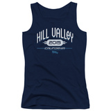 Juniors Tank Top: Back To The Future II - Hill Valley 2015 Womens Tank Tops