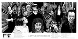 Castle Of Horror Prints by Howard Teman