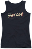 Juniors Tank Top: They Live - Glasses Logo Tank Top