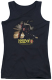 Juniors Tank Top: Hellboy II - Poster Art Tank Top