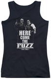 Juniors Tank Top: Hot Fuzz - Here Come The Fuzz Tank Top