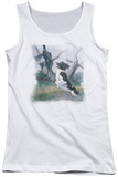 Juniors Tank Top: Wildlife - Springer With Pheasant Tank Top
