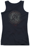 Juniors Tank Top: Hellboy II - Bprd Stone Tank Top