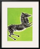 Zebra Art by Frank Mcintosh
