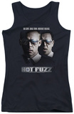 Juniors Tank Top: Hot Fuzz - Big Cops Tank Top