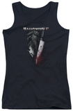 Juniors Tank Top: Halloween II - Cold Gaze Tank Top