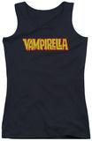 Juniors Tank Top: Vampirella - Logo Tank Top