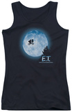Juniors Tank Top: E.T. - Moon Scene Womens Tank Tops
