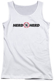 Juniors Tank Top: Chuck - Nerd Herd Tank Top