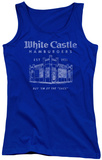 Juniors Tank Top: White Castle - By The Sack Tank Top