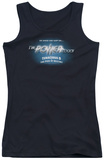 Juniors Tank Top: Pick Of Destiny - Power Couch Tank Top