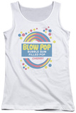 Juniors Tank Top: Tootsie Roll - Blow Pop Label Tank Top