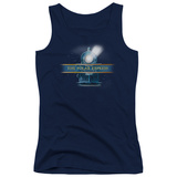 Juniors Tank Top: Polar Express - Train Logo Tank Top