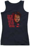 Juniors Tank Top: Childs Play 2 - In Heaven Womens Tank Tops