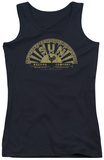 Juniors Tank Top: Sun Records - Tattered Logo Tank Top