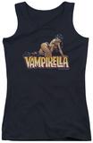 Juniors Tank Top: Vampirella - Title Crawl Tank Top
