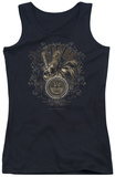 Juniors Tank Top: Sun Records - Scroll Around Rooster Tank Top