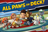 Paw Patrol All Paws On Deck Poster