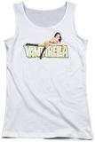 Juniors Tank Top: Vampirella - Logo Lounge Tank Top
